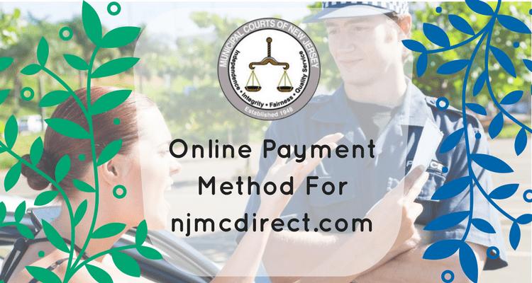 pay njmc traffic ticket